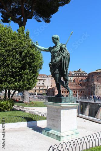 Foto op Plexiglas Kiev Italie / Rome - Statue d'Auguste