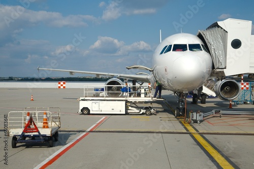 Fototapeta Airliner obraz na płótnie