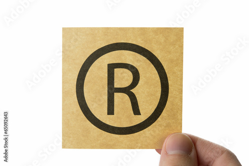 R Trademark Copyright Buy This Stock Photo