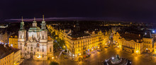 View Of Old Town's Square In Prague