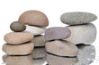 Composition of stacked pebbles