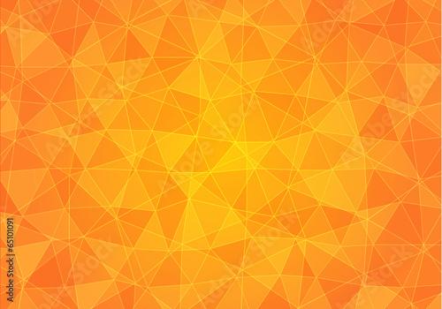 Obraz Tło w pomarańczowe trójkąty - fototapety do salonu