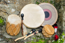Native American Drums.