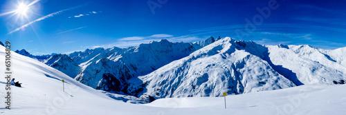 Valokuva  panoramique Alpes Paysage de montagne