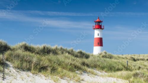 Fototapeta Wydmy   lightouse-on-dune-horizontal