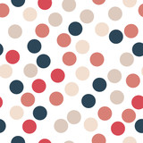 Colorful dot seamless background