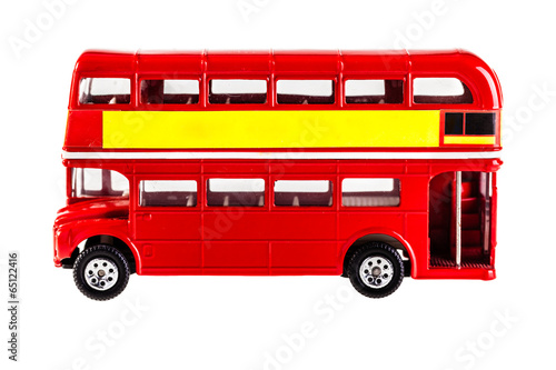 Photo  London bus model