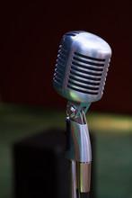 Vintage Style Retro Microphone