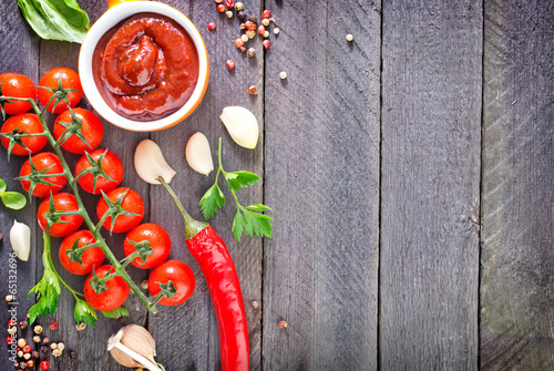 tomato sauce and spice