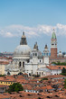 Saint Marks Tower and Church Domes in Venice