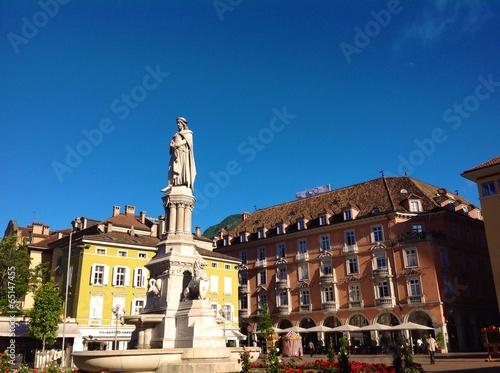 Fotografie, Obraz  Walther square Bolzano