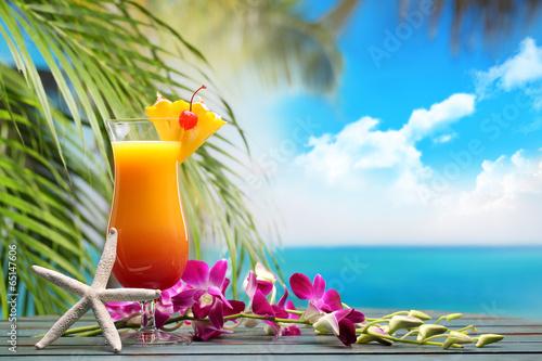 Poster Oceanië Summer drink