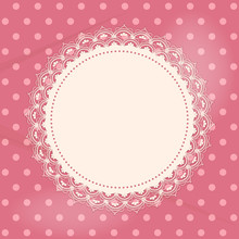 Lace Doily Background