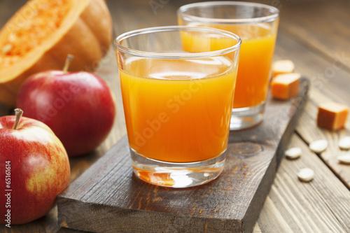Foto op Canvas Sap Juice of apples and pumpkins