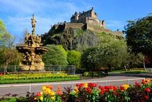 Edinburgh Castle View From Pri...