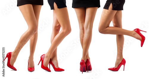 Fotografie, Obraz  Sexy women legs