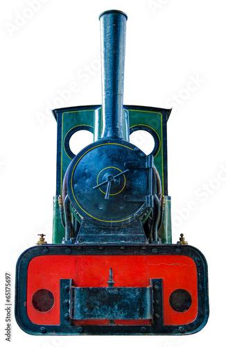Fotografie, Obraz Small Vintage Steam Engine