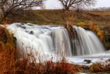 waterfall on the river Kalmius