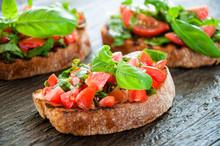 Italian Tomato Bruschetta With...