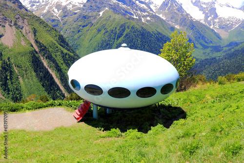 Foto op Canvas UFO UFO