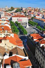 Restaradores square, Lisbon