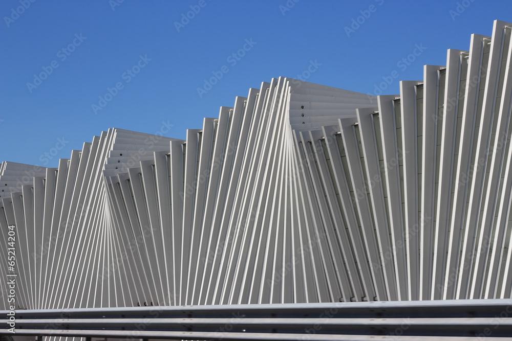 Fototapety, obrazy: Railway station Mediopadana in Reggio Emilia, Italy