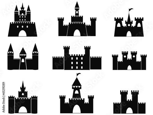 black castle icons