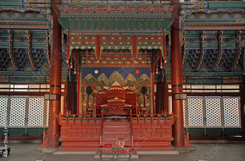 Fototapeta premium Gyeongbok Palace, Seoul, Korean Republic