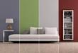 canvas print picture - Farben im Wohnraum
