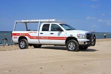 Beach Rescue Truck
