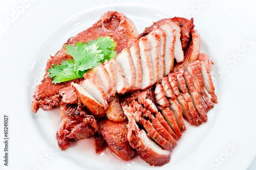 Valokuva  Chinese Red Pork