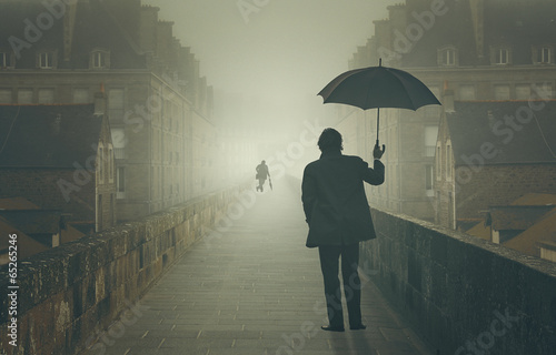 Fotografía  Shadows in the fog
