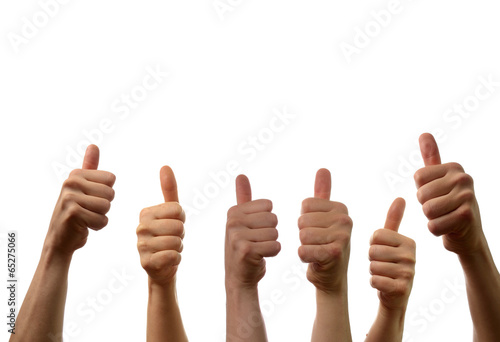 Fotografie, Obraz  Thumbs up