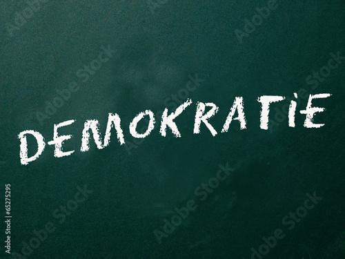 Fotografie, Obraz  Demokratie