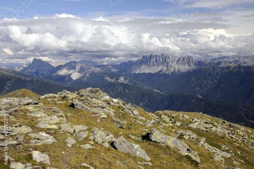 Photo  Blick zu den Dolomiten