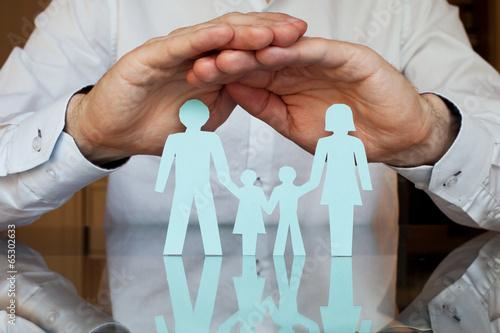 Fotografering  insurance concept