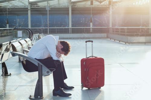 Obraz delayed flight - fototapety do salonu