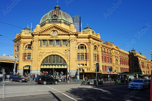 Poster Oceanië Flinders Street Station Melbourne
