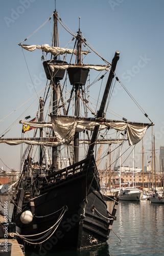 Photo Stands Ship Tall Ship