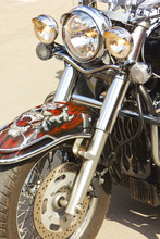 Front Of Motorcycle