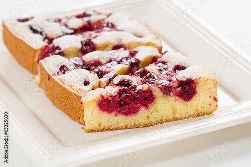 Homemade Organic Cherry Pie - 65325830