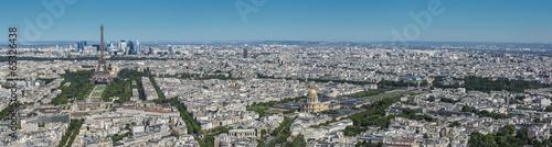 Poster Paris Vue Aérienne de Paris
