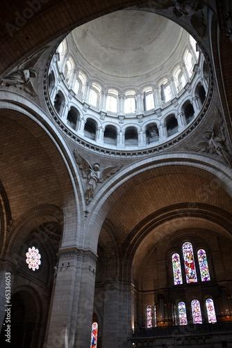 Photo  Inside the Sacre Coeur in Monmartre, Paris.