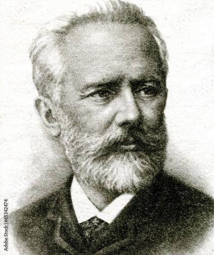 Fotomural  Pyotr Tchaikovsky, Russian composer