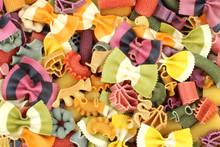 Italie - Pâtes Multicolores