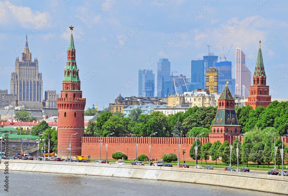 Photo  Moscow skyline