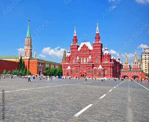 Red Square, Moscow Canvas Print
