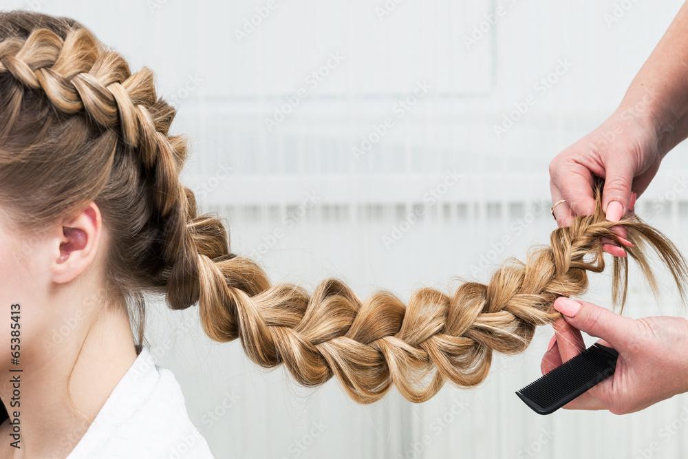 Fotografie, Obraz  weave braid