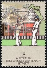 Stamp Printed In AUSTRALIA Sho...