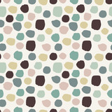 Seamless background with abctract dots, spots